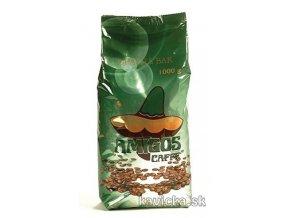 AMIGOS Qualita Bar Verde zrnková káva 1kg