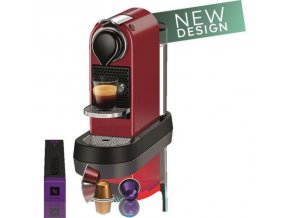 NESPRESSO Citiz KRUPS red