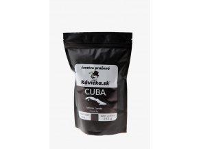 čerstvo pražená káva 250g Cuba