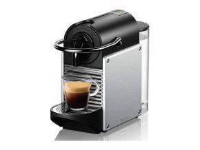 nespresso pixie en124s coffee machine electric aluminium