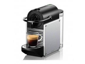 nespresso pixie en124s coffee machine electric aluminium