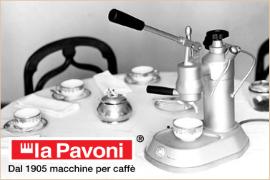 Manuálne kávovary La Pavoni