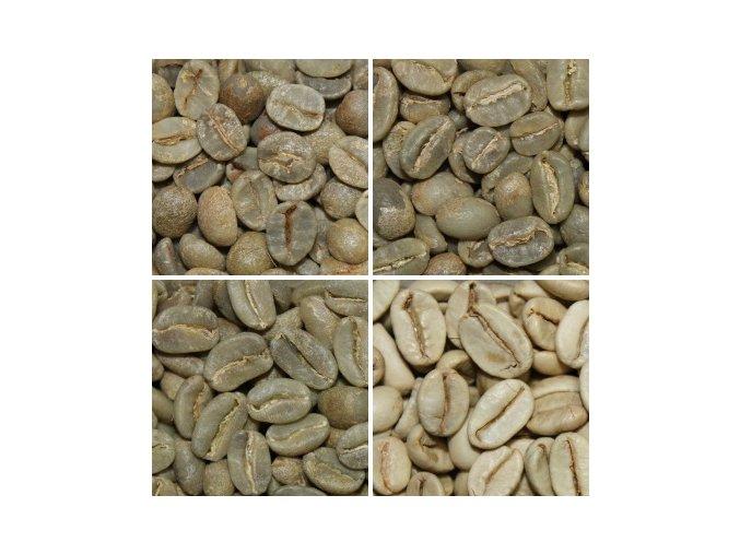 Zelená káva - vzorkové balenie, 4 x 300 g