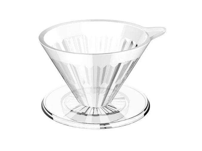 Timemore Crystal Eye dripper 02 - plastový číry