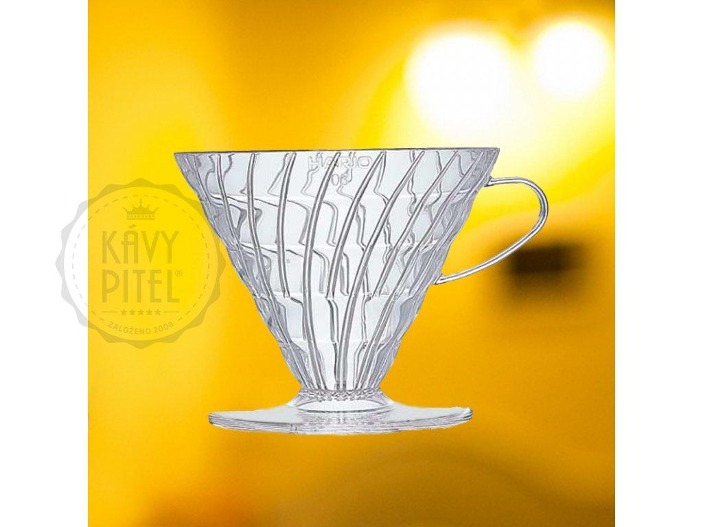 dripper plast 01 hario kava kavy pitel