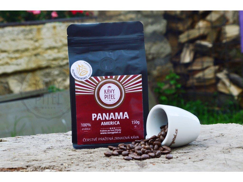 panama zrnkova kava kavy pitel 150g