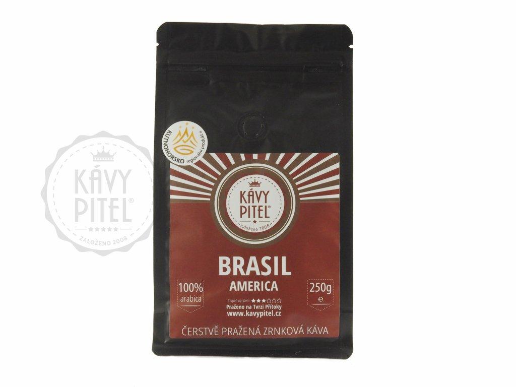 brasil brazilie zrnkova kava kavy pitel 250g