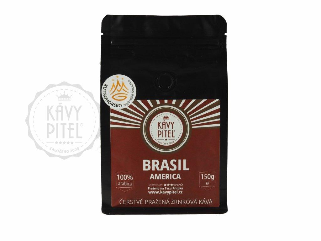 brasil brazilie zrnkova kava kavy pitel 150g