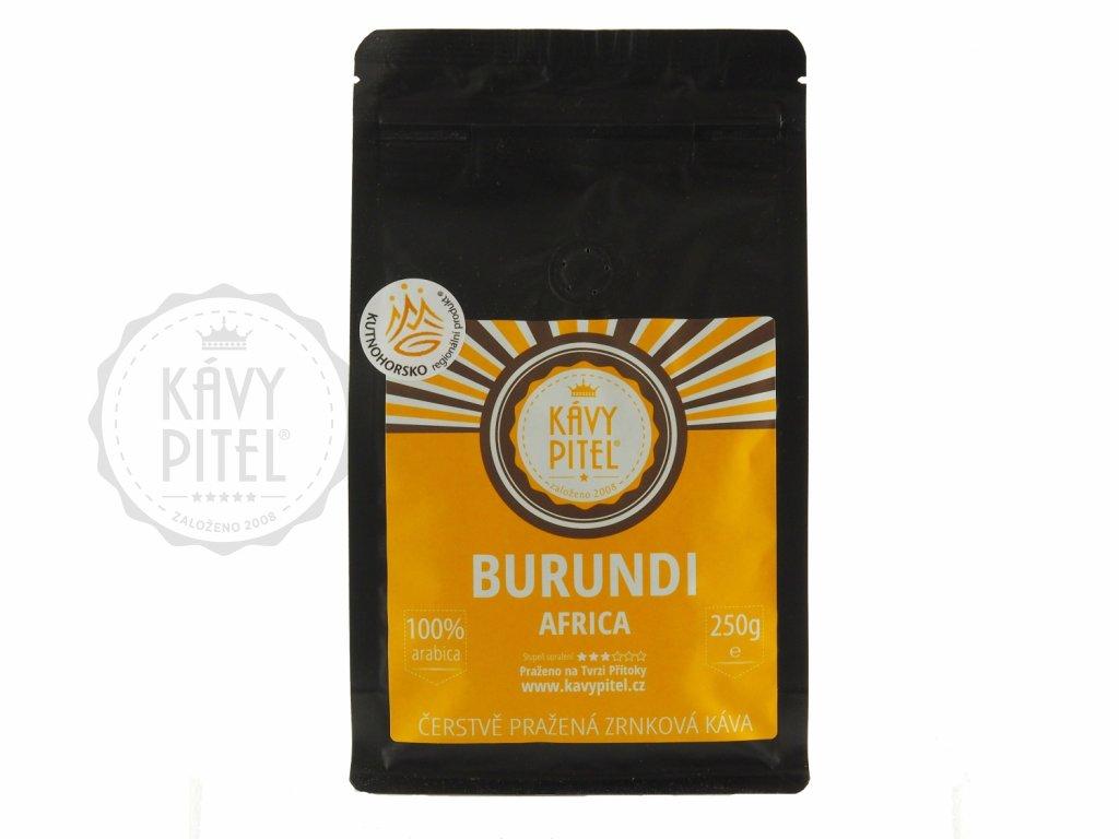 burundi AA zrnkova kava kavy pitel 250g