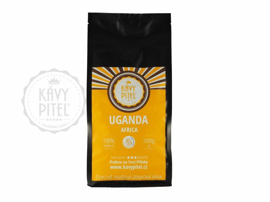 Uganda zrnkova kava kavy pitel 1000g