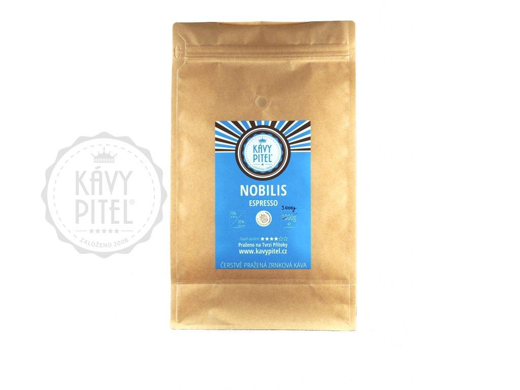 nobilis smes zrnkova kava kavy pitel 3000g