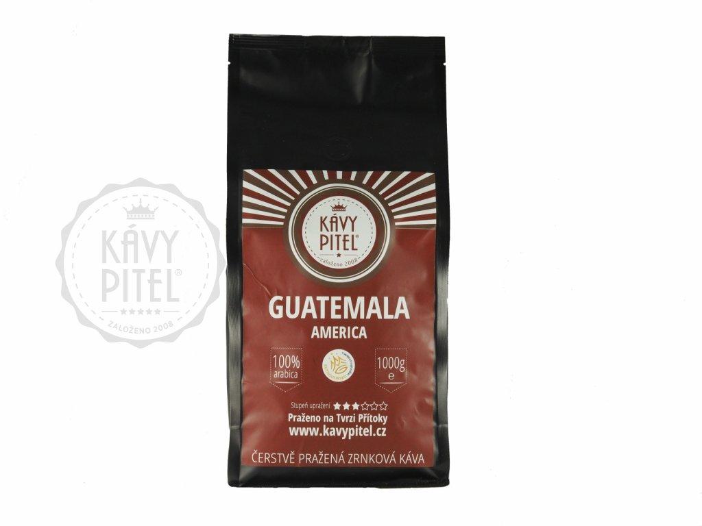 guatemala zrnkova kava kavy pitel 1000g