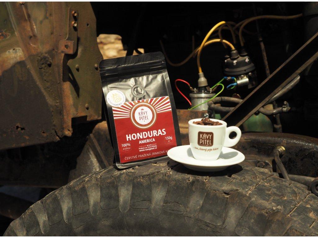 honduras kava prazena kavy pitel