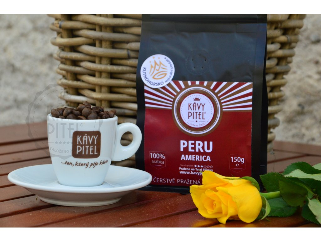 peru kava prazena kavy pitel