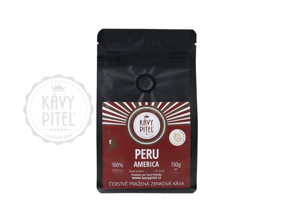 peru zrnkova kava kavy pitel 150g