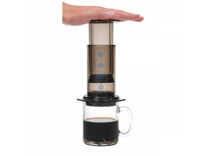 aeropress kava kavy pitel
