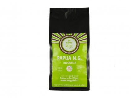 papua nova guinea zrnkova kava kavy pitel 1000g