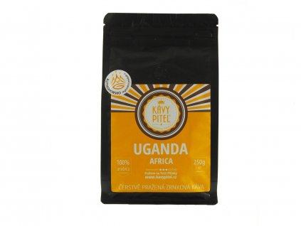 uganda zrnkova kava kavy pitel 250g