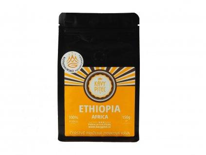 ethiopia etiopie zrnkova kava kavy pitel 150g