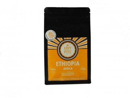 ethiopia etiopie zrnkova kava kavy pitel 250g