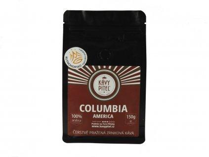 columbia kolumbie zrnkova kava kavy pitel 150g