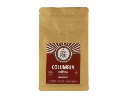 columbia kolumbie zrnkova kava kavy pitel 50g