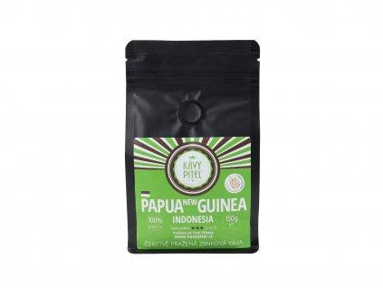 papua nova guinea zrnkova kava kavy pitel 150g