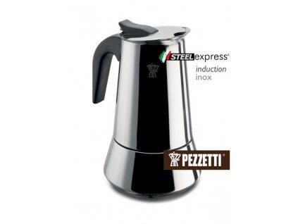 Moka konvice Pezzetti SteelExpress 6 salku
