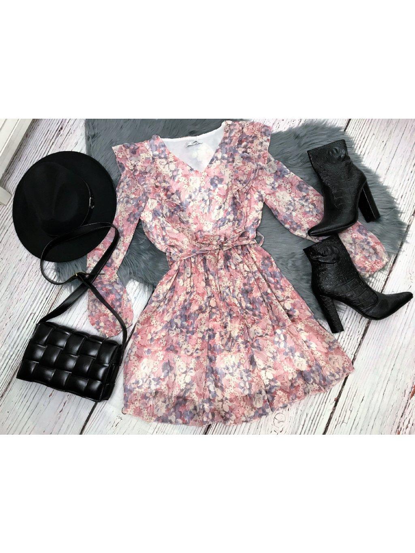 kvetinové dámske šaty