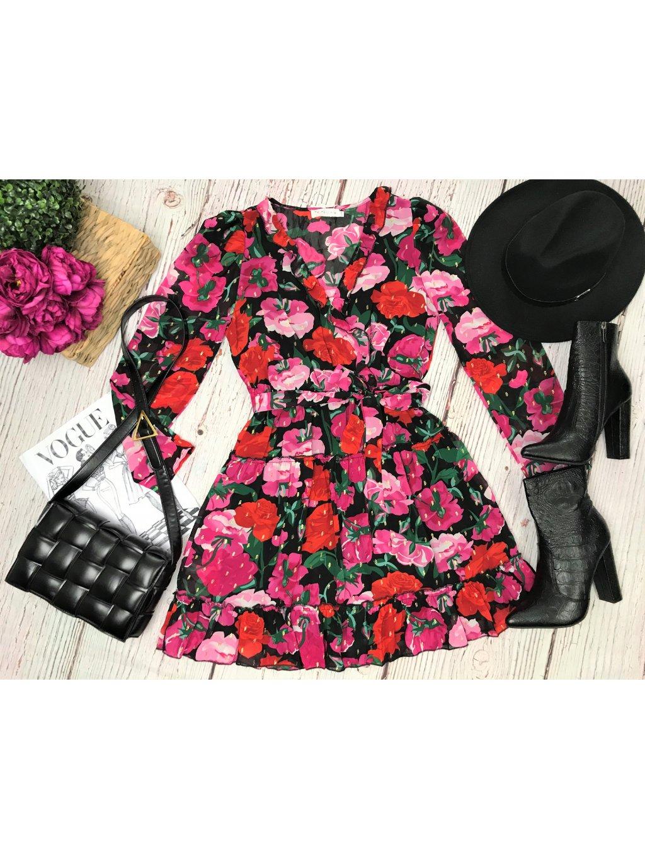 Kvetované šaty Roses