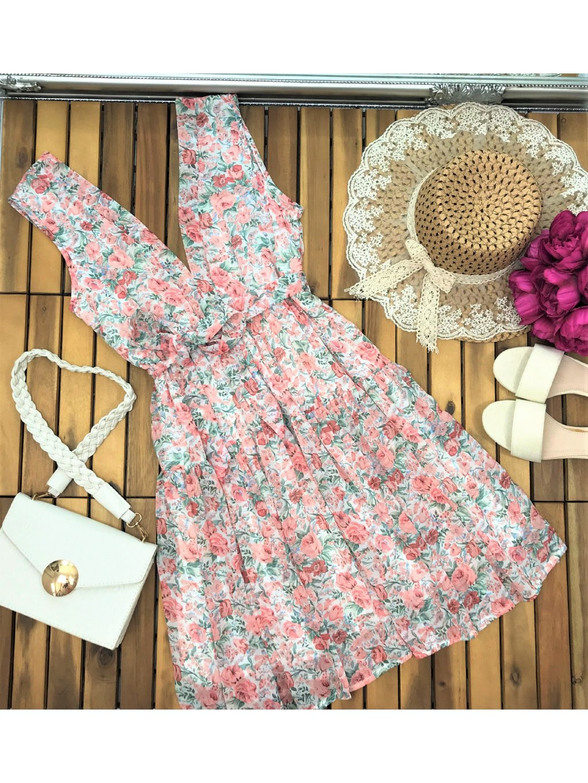 kvetinové šaty na leto