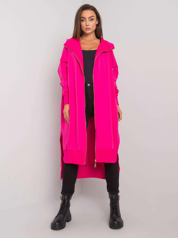 dlhá pink mikina