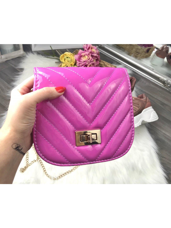 pink kabelka