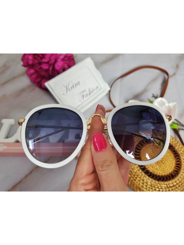 662bf1842 Slnečné okuliare Carmen - biele - Keira Fashion