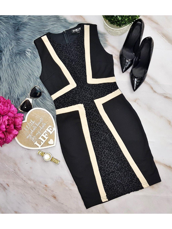 šaty elegantné