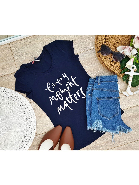štýlové dámske tričko s nápisom