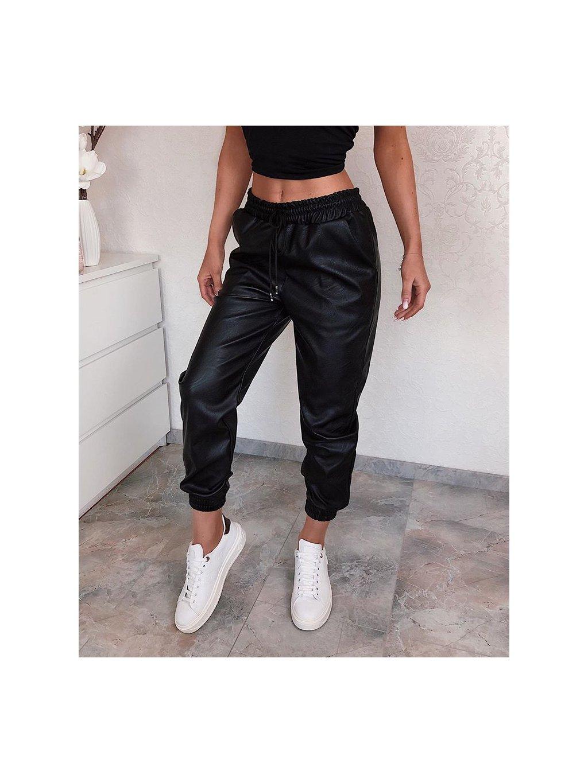 Koženkové nohavice Spoty