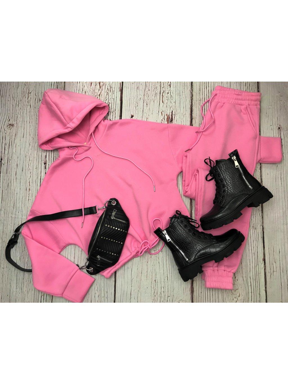 Komplet Hoodie Pink