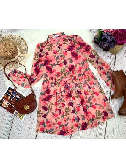 kvetinové šaty