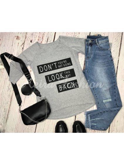 tričko don´t look back