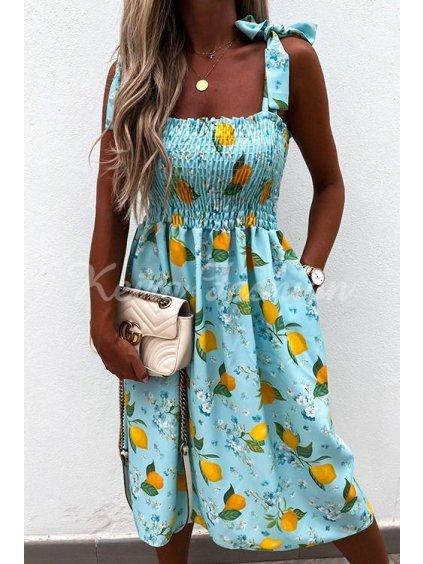 Šaty s citronmi