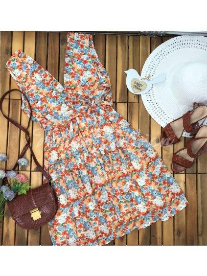 Šaty Elenza Orange
