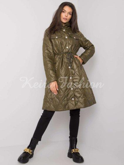 pol pl Khaki pikowana kurtka przejsciowa Casarine 376933 2
