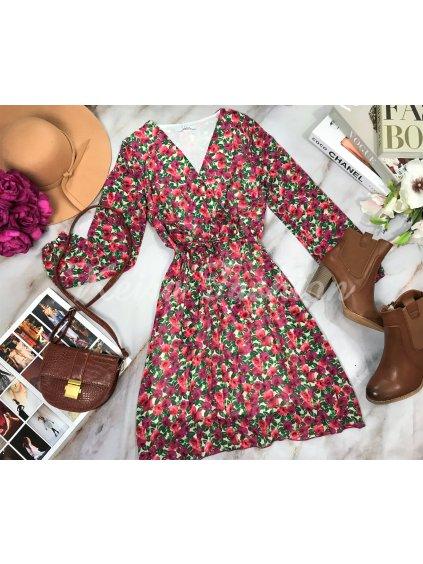 kvetinové šaty dámske