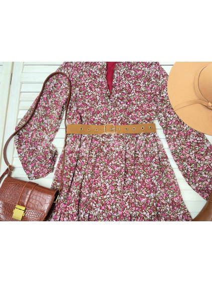 Šaty Madina - bordové