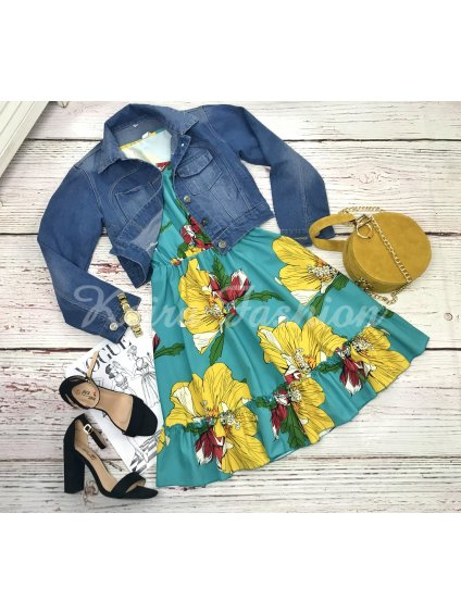 riflová bunda dámska