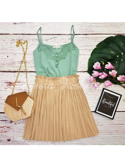 Top Pistacco Lace