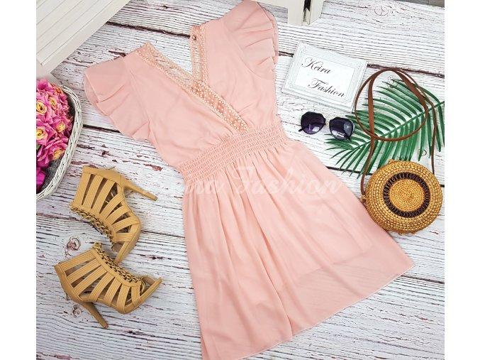 Šaty Romanca - ružové