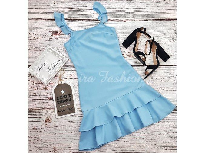 Šaty Sky Blue