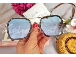 Zrkadlové slnečné okuliare Blue